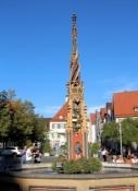 Ulm, Brunnen am Rathaus