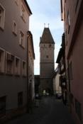 Ulm, am Metzgerturm