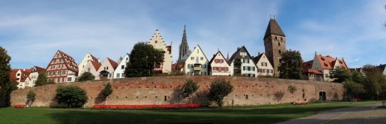 Ulm, Donaufront der Altstadt