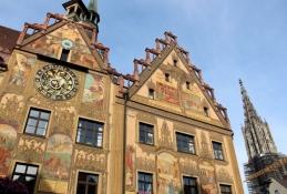 Ulm, Rathaus und Münsterturm