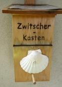 Erbach, Schild nahe der Kirche