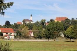 Blick zurück auf Erbach