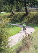 Radweg bei Erbach