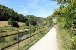 Im Donautal hinter Inzigkofen