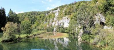 Im Donautal zwischen Dietfurt und Gutenstein