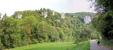 Donautal bei Burg Altwildenstein
