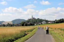 Eder-Radweg vor Felsberg