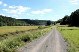 Eder-Radweg bei Schmittlotheim