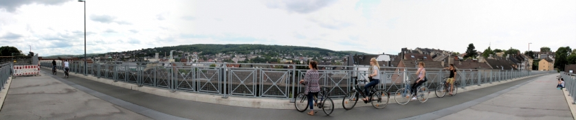 Wuppertal, Nordbahntrasse am Kuhler Viadukt