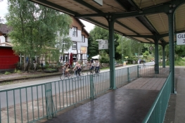 Wuppertal, Nordbahntrasse am ehem. Bhf. Loh