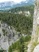 Vorderrheinschlucht bei Versam
