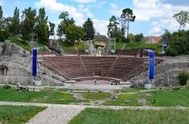 Augst: Römerstadt Augusta Raurica, Römisches Theater