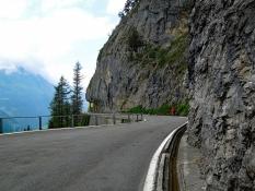 Klausenpassstraße Richtung Unterschächen