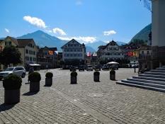 Stans: Dorfplatz