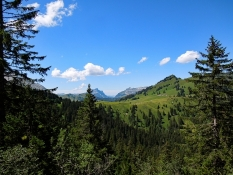Panoramastrasse bei Glaubenbielenpasshöhe