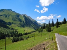 Panoramastrasse Richtung Sörenberg