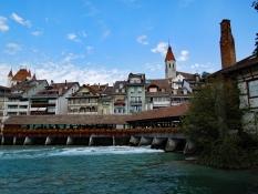 Thun: untere Schleusenbrücke