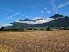 Rhônetal bei Vouvry
