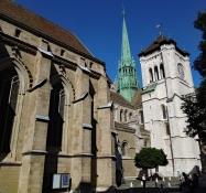 Genf: Katedrale Saint-Pierre