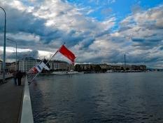 Genf: Pont du Mont-Blanc