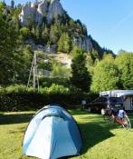 Fleurier: Camping Belle Roche