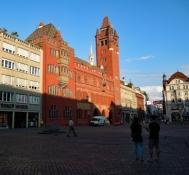 Basel: Marktplatz, Rathaus