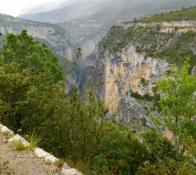 Verdonschlucht: nach Hôtel Du Grand Canyon