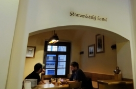 In the former butchersʹ guildhall Masné krámy is today a good restaurant