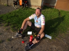 The climbs and the hot weather clearly have had an impact on me