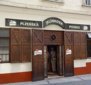 Kolya once lived in Prague, and this was his favourite pub, Jelínkova pivnice