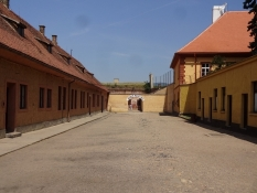 The barracks of the Small Fortress prison
