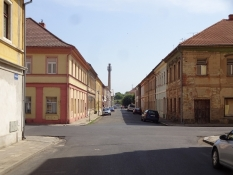 The large fortress constituted the ghetto of Theresienstadt