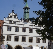 The local historic museum of Litoměřice on the central square