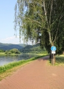 The route along the Elbe is way better than that along the Vltava