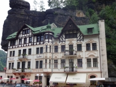 But weʹre still in the Czech Republic in this charming, old-fashioned hotel