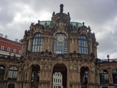 Our sightseeing trip of Dresden begun with a look at the Zwingerthe