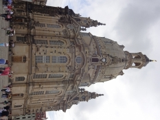 Our Ladyʹs church has become a symbol of the rebuilding of Dresden after the war