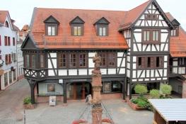 Michelstadt, Haus am Marktplatz