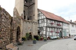 Babenhausen, am Hexenturm