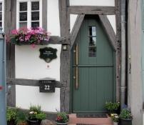 Babenhausen, Fachwerkhaus von 1442
