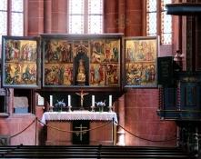 Schotten, Flügelaltar in der Liebfrauenkirche