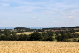 Landschaft bei Lautertal