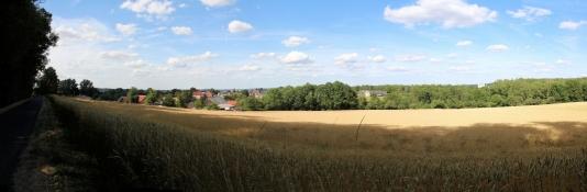 Landschaft vor Altenburg