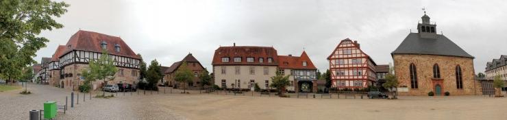 Ziegenhain, Paradeplatz