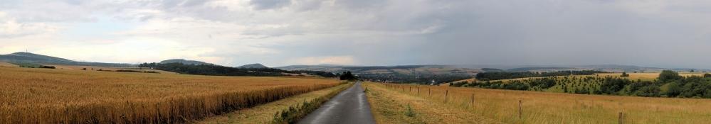 Landschaft vor Hofgeismar