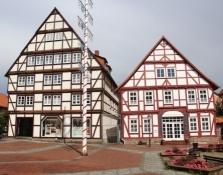 Hofgeismar, Häuser am Marktplatz