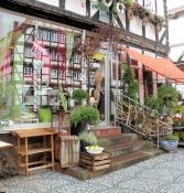 Hofgeismar, Geschäft am Marktplatz