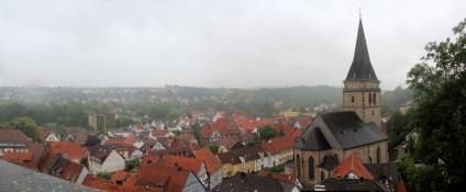 Warburg, Blick über die Altstadt