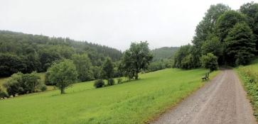 Im oberen Diemeltal zwischen Heringhausen und Usseln