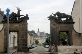 Arnsberg, Altstadt vom Hirschberger Tor